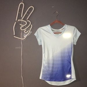 Nike Dri-fit Reflective Running Tee Soft Small